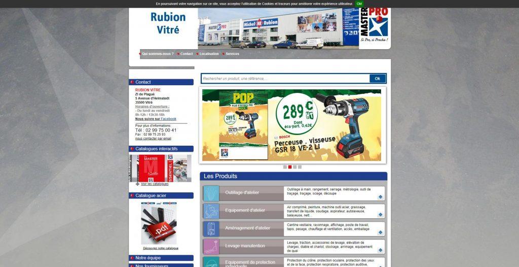 Rubion, fournisseur de quincaillerie, outillage et équipement