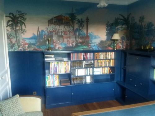 Bibliothèque-bleue