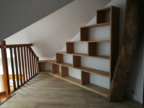 bibliothèque-sous-pente
