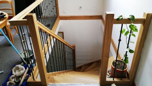 escalier-tournant-barrreaux-métalique